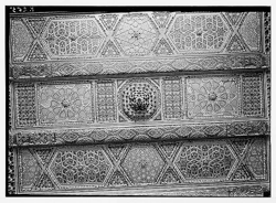 Wall with Arabesque