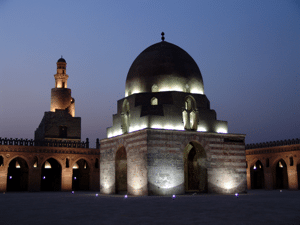 Glowing Mosque