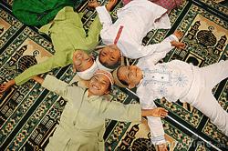 Muslim Kids Down