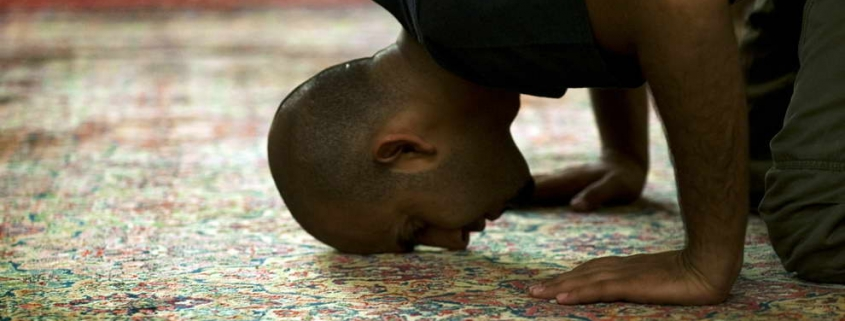 Is a Prayer Offered on a Carpet Stained With Blood Valid