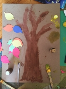 Step 3: Paint/colour it in