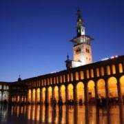 Damascus, Umayyad Mosque, Minaret of the Bride