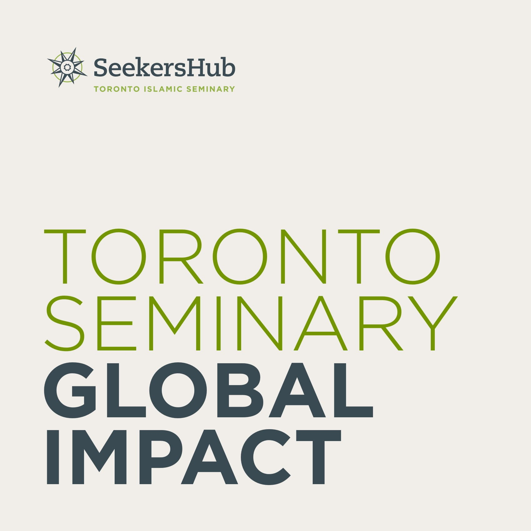 SeekersHub Global Impact Report - click to read