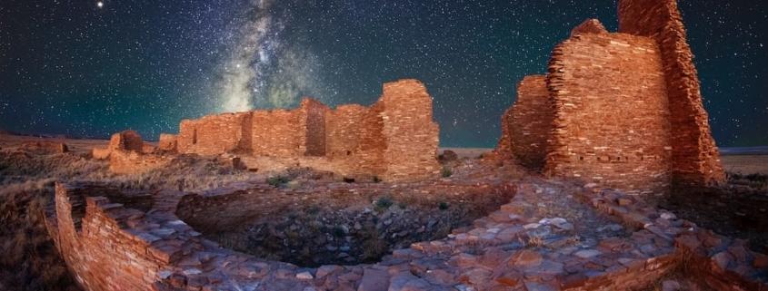 Photo by John Fowler on Unsplash; hamlet in ruins; Sura al Baqara; parables; similitudes; Quran