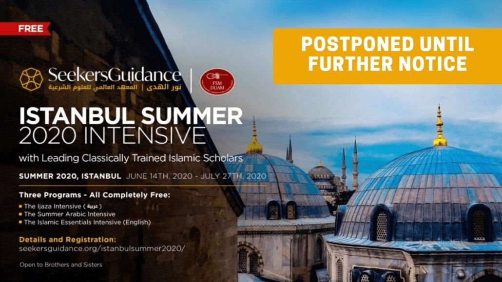 The Istanbul Summer 2020 Intensive Program